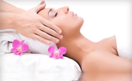 Релаксиращ anti-age масаж на лице, шия и деколте