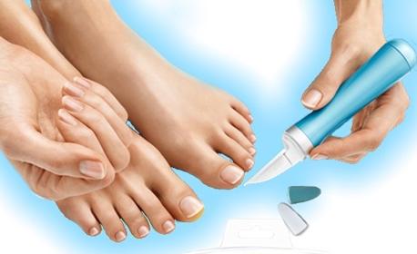 Автоматична пила за оформяне и полиране на нокти с 3 накрайника Nail Care System
