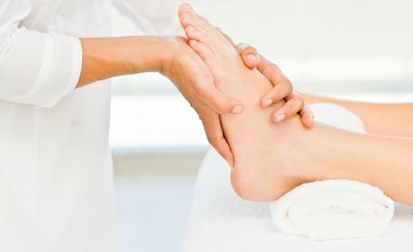 Аромамасаж на цяло тяло, плюс рефлексотерапия на стъпала и масаж на скалп и лице