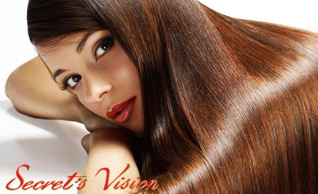 Масажно измиване на коса с професионална козметика Fadiam, плюс подстригване по метода Stephan и оформяне със сешоар