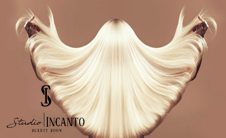 Терапия за коса с арганови стволови клетки Semi di Lino на Alfaparf, плюс оформяне със сешоар