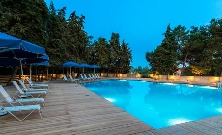 През Септември на остров Тасос! 3 нощувки със закуски и 2 вечери в Хотел Zoe****, плюс транспорт