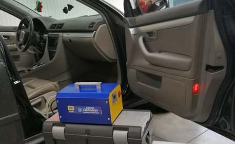 Дезинфекция и пречистване на въздуха в лек автомобил с озонатор