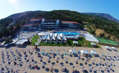 През Октомври до остров Тасос, Кавала и пещерата Алистрати! 2 нощувки със закуски и вечери в хотел 4*, плюс транспорт