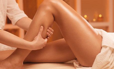 Антицелулитен масаж с аромат на канела - на бедра, седалище, ханш и корем