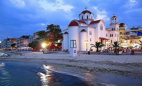 В Паралия Катерини през Юли и Август! 5 нощувки със закуски в Хотел Orea Eleni***, плюс транспорт