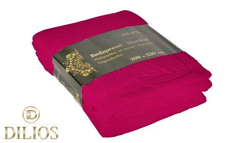 Покривка за легло с две лица в цвят по избор