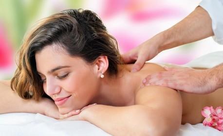 Класически релаксиращ или лечебен масаж на цяло тяло, плюс точков масаж на глава и ходила