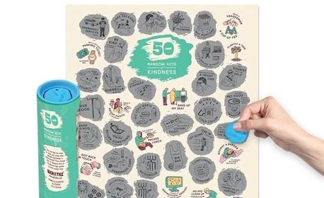 "Скреч постер - ""51 добри дела"""