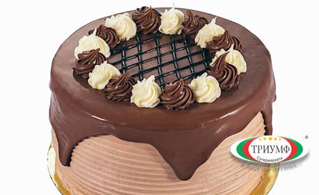 "Торта ""Фереро"" с 4 парчета"