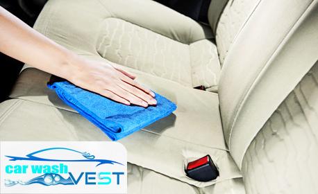 Чист автомобил! Сухо или мокро изпиране на седалка