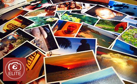 Принтиране на снимки по нова технология - брой и размер по избор