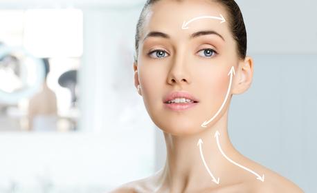 Лазерна липосукция и RF на двойна брадичка и шия, или лазерна липосукция с RF или кавитация на двойка зони по избор