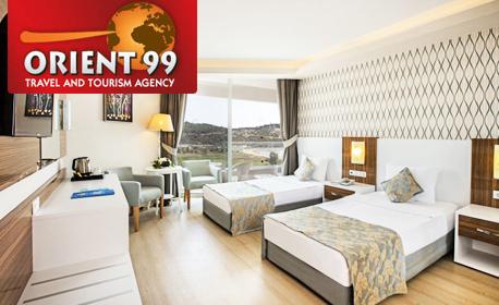 Луксозна почивка в Кушадасъ! 7 нощувки на база 24 часа All Inclusive в Хотел Palm Wings Ephesus Kusadasi*****