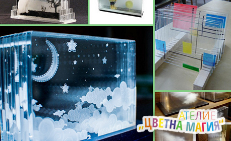 3 часа рисуване на 3D картина върху стъкло - на 28 Август