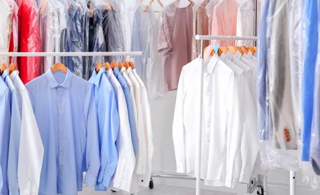Химическо чистене и гладене на дрехи с 40% отстъпка