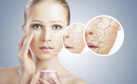 Хидратираща и въстановяваща кислородна мезотерапия за лице и околоочен контур, плюс бонус - кислородна терапия за устни