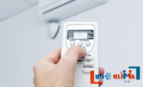 Дезинфекция на климатик или климатична система на адрес на клиента