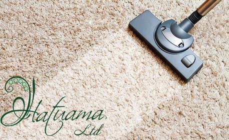 Екологично почистване с обезпрашаване, пране и дезинфекция на 1кв.м мека подова настилка