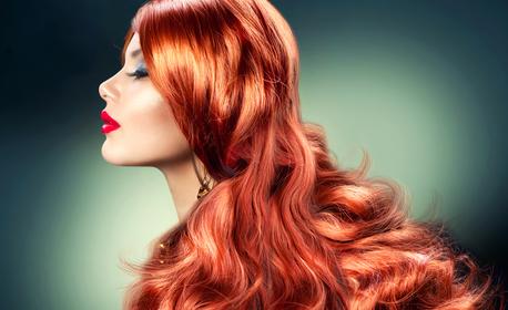 Кератинова терапия за коса плюс ампула с инфраред преса или полиране, или боядисване с боя на клиента