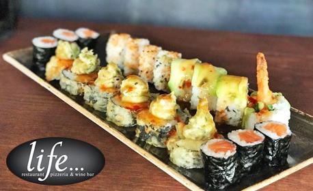 Суши сет с 8 или 20 хапки