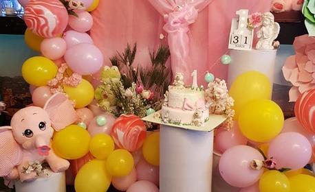 3 часа детски рожден ден, плюс меню, фото торта и възможност за аниматор