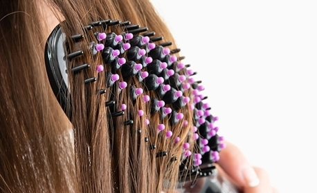 Овална електрическа четка за изправяне на коса InnovaGoods