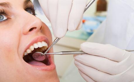 Здрави зъбки! Преглед, план за лечение и почистване на зъбен камък, или фотополимерна пломба