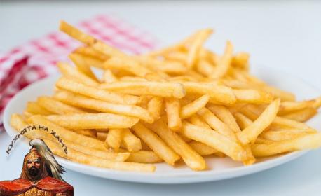 """1850гр вкусно хапване! Плато """"Мешана скара"""", плюс пресни пържени картофи"""