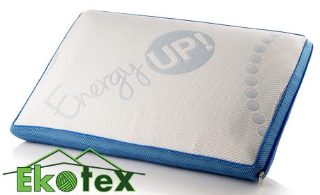 Ортопедична възглавница с мемори пяна Sleepmode Memory Energy Up