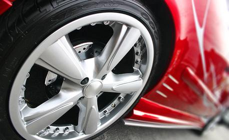 3D реглаж на преден мост на автомобил, плюс проверка на ходовата част, спирачната система и светлините