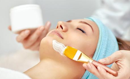 """Почистване на лице с ултразвук и терапия по избор - """"бяла"""" или шоколадова"""