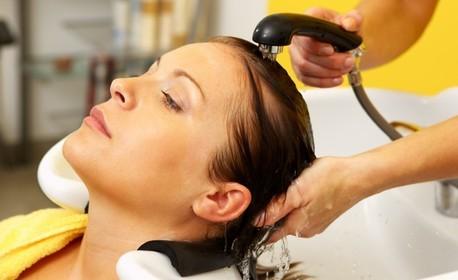 Красива коса с Loreal! Подстригване, плюс измиване, подхранваща маска и прическа със SteamPod или маша