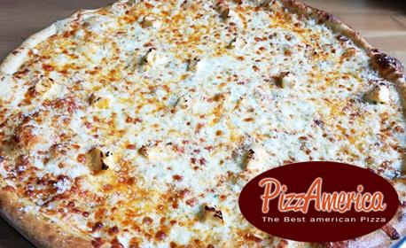 Пица по избор с био пълнозърнест блат от спелта или пшеница