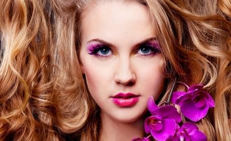 Красива коса! Боядисване с боя на клиента - без или със подхранваща терапия, или арганова терапия