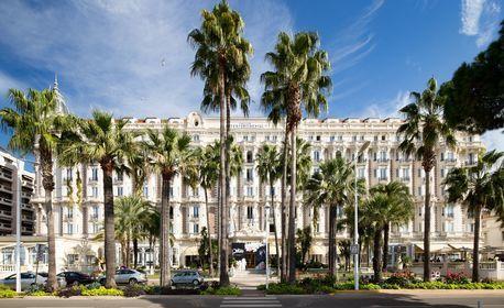 През Декември до Ница! 3 нощувки със закуски, плюс самолетен транспорт и възможност за Кан, Монако и Монте Карло