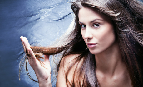 7-молекулярна възстановяваща терапия за косa, плюс оформяне