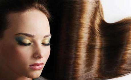 Ламиниране на коса с инфраред преса и бамбукова терапия, плюс подстригване и оформяне със сешоар