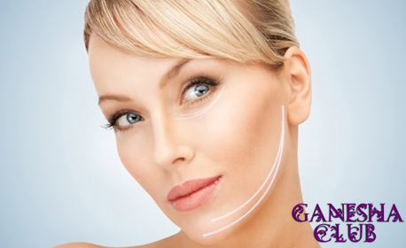 Фотодинамична лифтинг терапия за лице - без или със частичен масаж