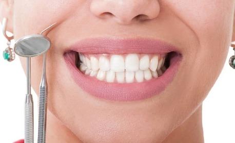 84% отстъпка за почистване на зъбен камък с ултразвук и полиране с Airflow, плюс обстоен дентален преглед