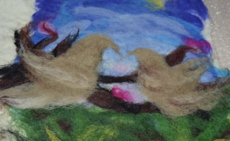 3 часа уъркшоп за изработване на картина от вълна - плъстене, на 1 Ноември