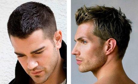 Мъжко подстригване, плюс измиване и оформяне