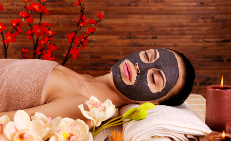 Радиочестотен или биолифтинг на лице и околоочен контур, плюс маска