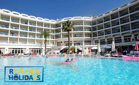 Ранни записвания за морска почивка в Мармарис! 7 нощувки на база All Inclusive в Хотел Pineta Park Deluxe****