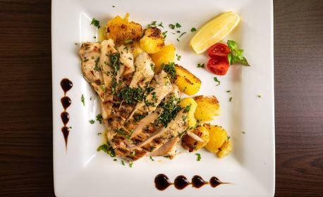 Основно ястие и салата, по избор