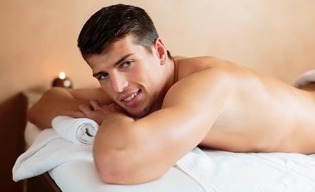 50 минути релакс! Масаж на гръб, рамене, ръце и кръст, плюс термо масаж с инфрачервена светлина и топлина