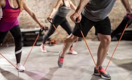 Комплект за тренировка с 3 ластика с дръжки
