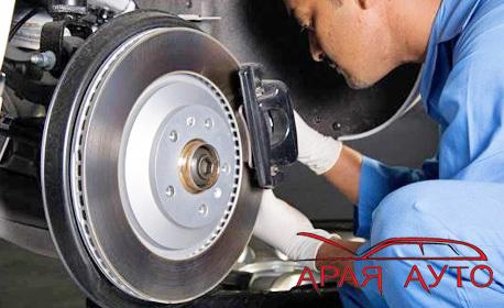 Смяна на предни или задни накладки на лек автомобил