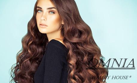 Красива коса! Ламиниране, терапия, боядисване с боя на клиента или оформяне на прическа