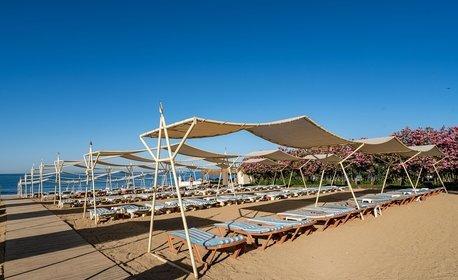 Ранни записвания за морска почивка в Алания! 7 нощувки на база All Inclusive в The Garden Beach Hotel*****